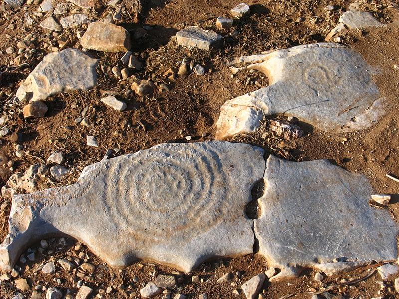Spiral Engravings in Irakleia