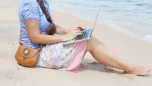 Blogging during holidays