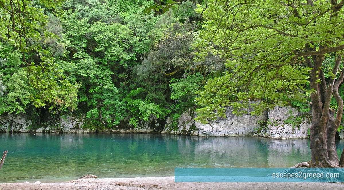 Voidomatis river in Epirus