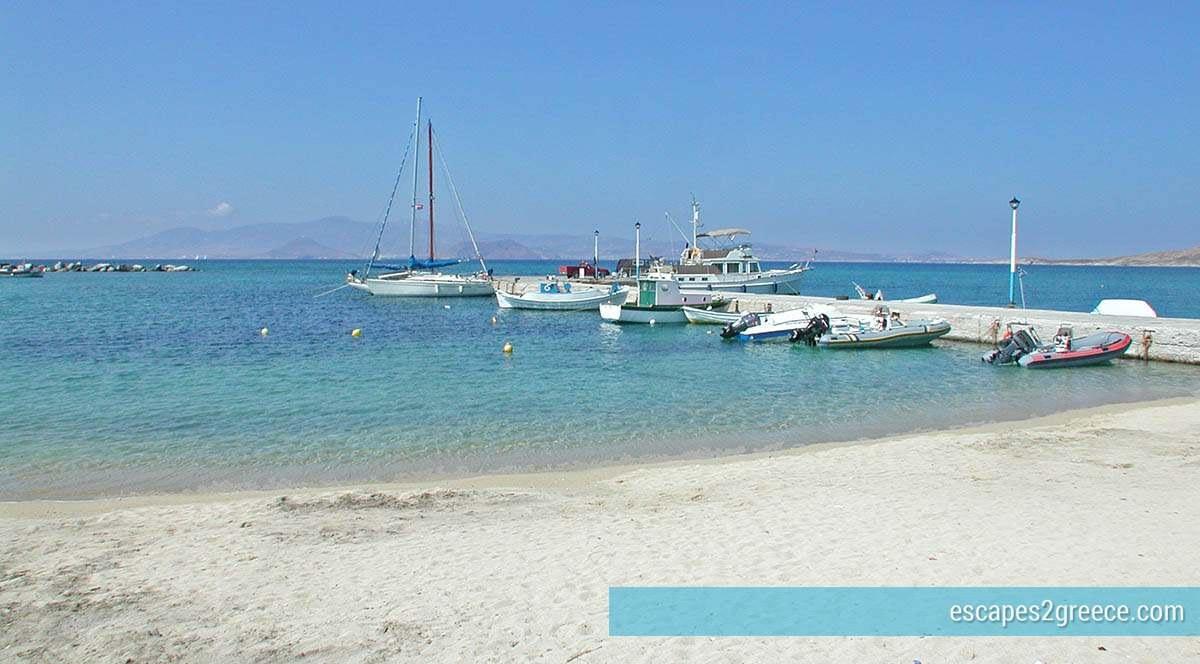 Agia Anna sandy beach