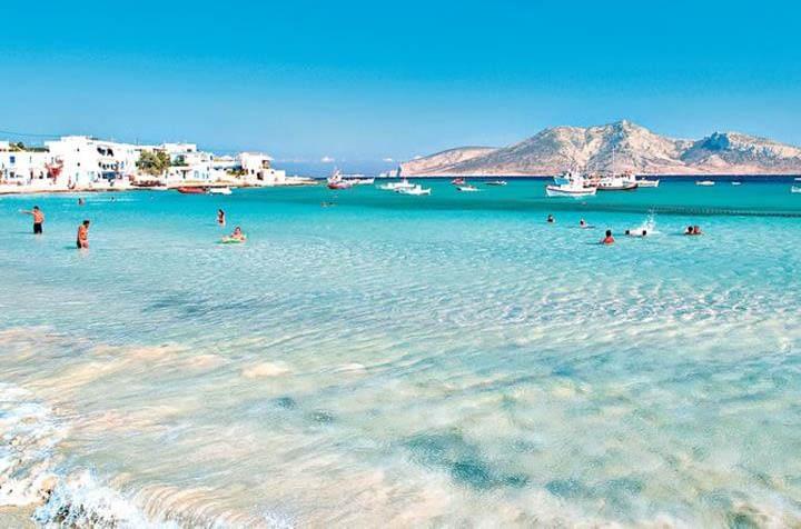 Koufonisia beaches